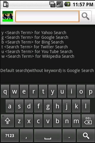 Search Anything Android