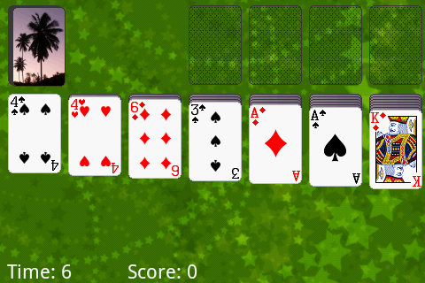 Klondike Solitaire Android Game