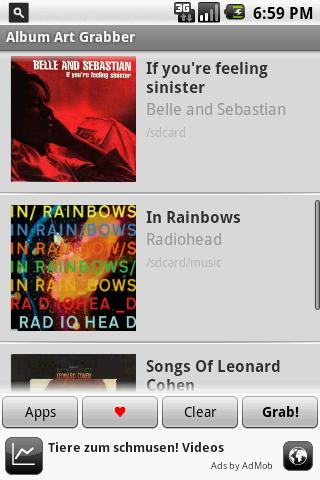 Album Art Grabber Android Media & Video