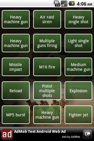Army soundboard Android Entertainment