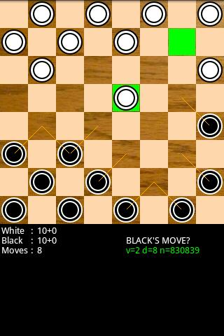 Checkers for Android Android Brain & Puzzle