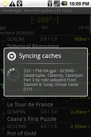 GeoBeagle: Geocaching Android Entertainment