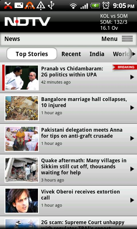 NDTV Android News & Magazines