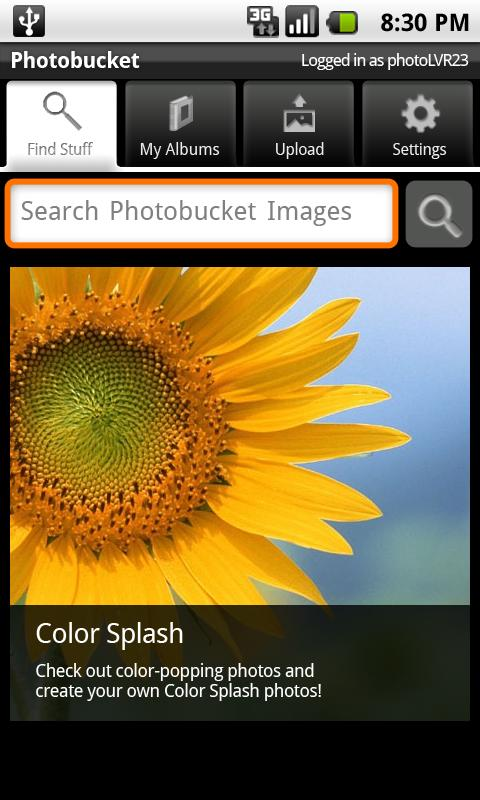 Photobucket Mobile Android Photography