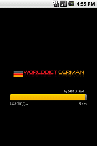 WorldDict German Free Android Libraries & Demo