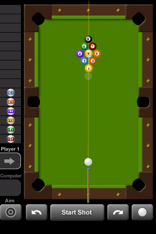 Touch Pool 2D Android Sports Games