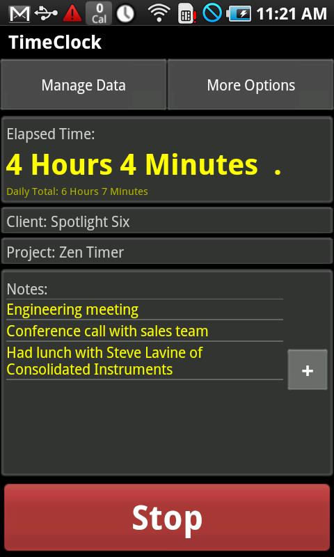 TimeClock - Time Tracker Android Business