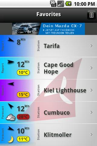 Windfinder Android Weather