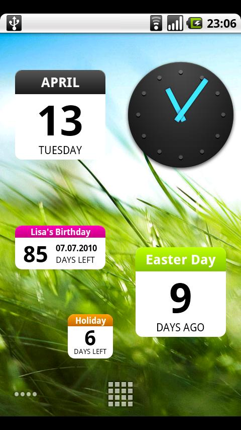 DaysUntil Widget Android Tools