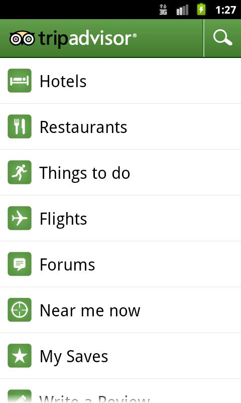TripAdvisor Hotels Flights Android Travel & Local