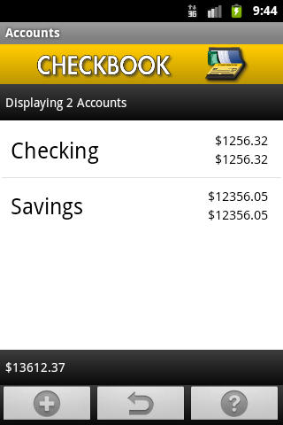 Checkbook (free) Android Finance