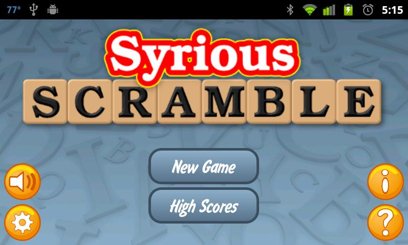 Syrious Scramble Full Android Brain & Puzzle