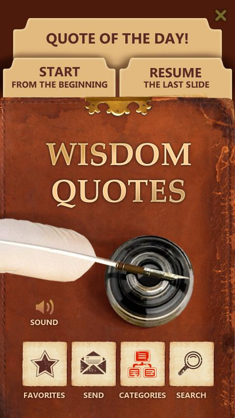 Best Wisdom Quotes - Free Android Education
