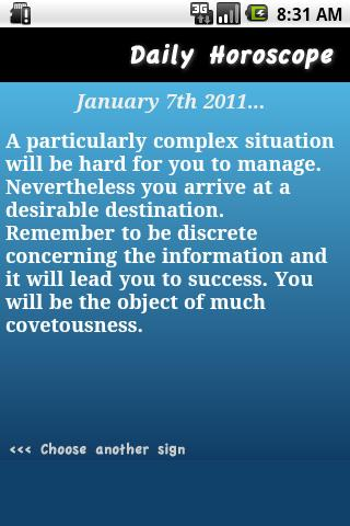 Daily Horoscope - Libra Android Health & Fitness