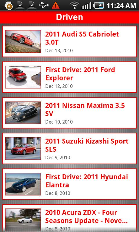 Automobile Magazine News Android News & Magazines