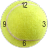 Tennis Ball Clock Widget 2×2