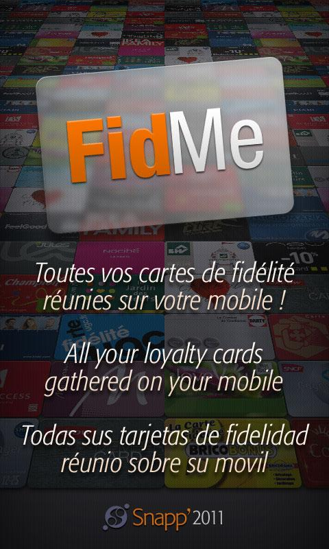 FidMe - Loyalty cards Android Shopping