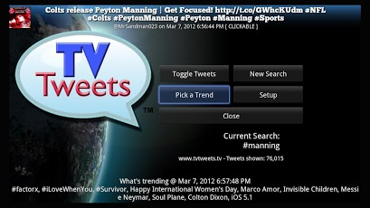 TV Tweets Free Android Social