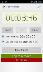 Footy Timer Android Sports Games