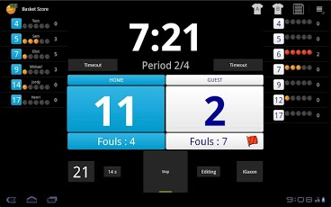 Basket Score Demo Android Sports