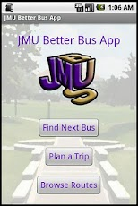 Donations for JMU Better Bus Android Transportation