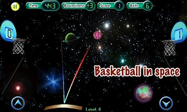 Cosmic Basketball Android Sports Games