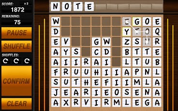 Word-Drop Tablet Android Brain & Puzzle
