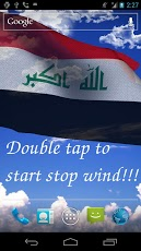 3D Iraq Flag Anthem LWP Android Personalization