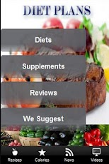 Diet Plans. Android Health & Fitness
