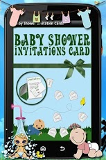 Baby Shower Invitation Cards Android Lifestyle