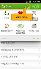 ASDA Android Shopping