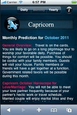 Capricorn Horoscope Android Lifestyle