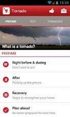Tornado - American Red Cross Android Weather