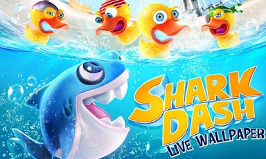 Shark Dash Live Wallpaper Android Personalization