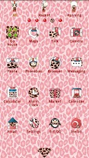 Pinkshuke Theme GO Launcher EX Android Comics