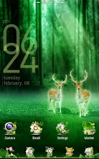 Forest GO LuancherEX Theme Android Personalization