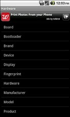 Android System Information Android Tools
