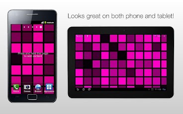 Glow Tiles Live Wallpaper Android Personalization