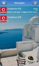 GO SMS Pro Santorini Theme Android Communication