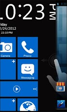 WP7 Plus GO Locker Theme Android Personalization