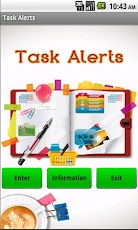 Task Alerts To Do List Android Productivity