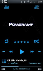 Poweramp Holo ICS Skin Android Music & Audio