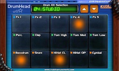DrumHead Android Music & Audio