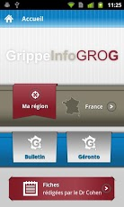 GrippeInfo GROG Android Medical