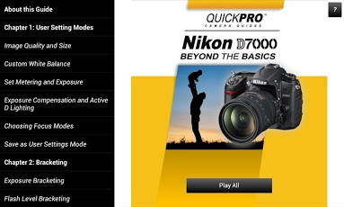 Nikon D7000 Beyond the Basics Android Photography