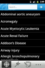 Target Disorders Android Medical
