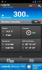 runtastic Altimeter Android Travel & Local