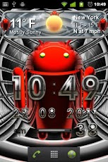 android weather clock Android Weather