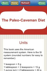 Paleo Caveman Diet Android Health & Fitness