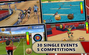 Athletics: Summer Sports Android Sports Games